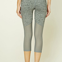 Active Marled Capri Leggings