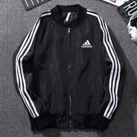 ADIDAS Woman Men Fashion Eiderdown Coat Cardigan Jacket