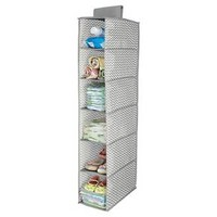 InterDesign® Chevron Narrow Hanging 6-Shelf Organizer : Target