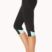 Colorblocked Skinny Workout Capris