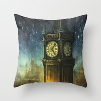 Something for the Nerves Throw Pillow by Alice X. Zhang | Society6