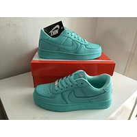 Nike Air Force 1 Women Sport Casual Candy Colors Low Help Plate Shoes Sneakers
