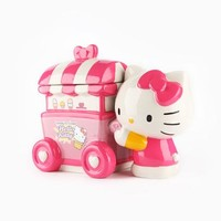 Hello Kitty Collectable Cookie Jar: Ice Cream
