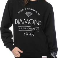 Diamond Supply Co. Craftsman Crew Neck Sweatshirt