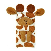 I Am A Giraffe Handmade Leather Case For iPhone 4/4s