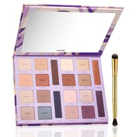 limited-edition color vibes Amazonian clay eyeshadow palette with brush from tarte cosmetics