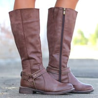 Zippy Riding Boots {Chestnut}