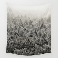 Don't Say You Know Wall Tapestry by Tordis Kayma