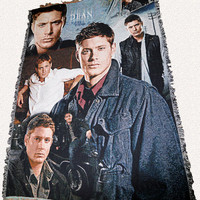 Supernatural Inspired Dean Throw Blanket