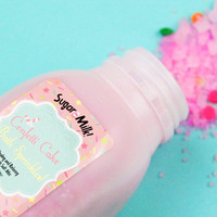 Confetti Cake Bath Sprinkles / Bath Salts / Bath Bomb / Cake / Cupcake / Pink / Bubble Bar