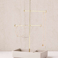 Louise Tiered Concrete Jewelry Stand | Urban Outfitters