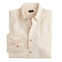 J.Crew Mens Indian Cotton Shirt In Solid