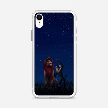 Lion King Remember Who You Are iPhone XR Case