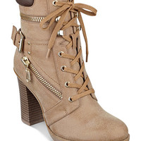 G by GUESS Gogi Lace-Up Booties