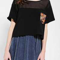 Anchal X Urban Renewal Pieced Tee - Urban Outfitters