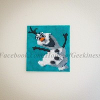 Frozen Inspired Olaf Magnet or Wall Decor from House of Geekiness