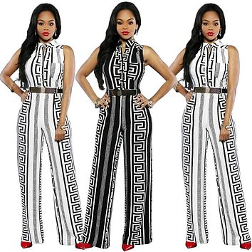 African Jumpsuit Printed Straight Trousers For Women African Clothes Jumpsuit Clothing