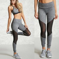 Women Camouflage Sports Yoga Workout Gym Fitness Exercise Athletic Pants Breathable Running Tights Pants Sports Leggings