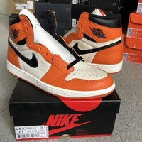 PEAPON Air Jordan 1 Retro High OG Reverse Shattered Backboard Size 11 DS 100% Authentic
