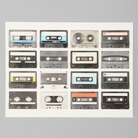 Urban Outfitters - Cassette Poster
