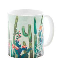 Boho Cactus What You Preach Mug by ModCloth