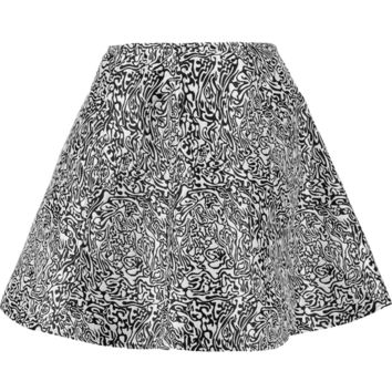 Opening Ceremony Fluted jacquard mini skirt – 55% at THE OUTNET.COM