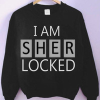 I Am Sherlocked Crewneck - Small