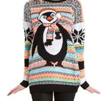 Poof Penguin Ugly Christmas Sweater 150043