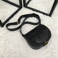 Burberry The Satchel in Alligator