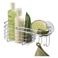 InterDesign Suction Shower Caddy - Chrome