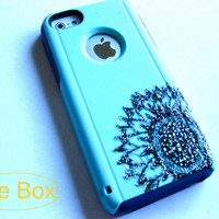 OTTERBOX iPhone5C case,casecover iPhone 5Cotterbox,iPhone 5C otterboxglitter case,otterboxiPhone 5C,glitter otterbox,Sunflower otterbox case