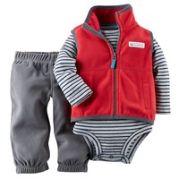 Carter's Fleece Vest & Pants Set - Baby Boy, Size: