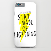 Stay Made of Lightning iPhone & iPod Case by Dan Ron Eli