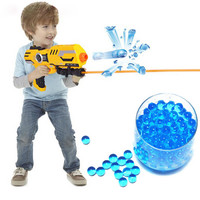10000Pcs Soft Crystal Water Paintball Gun Toy Nerf Bibulous Water ball Soft bullet Air water gun boys kids Gift Gun Accessories