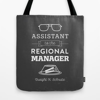 The Office Dunder Mifflin - Assistant to the Regional Manager Tote Bag by Noonday Design