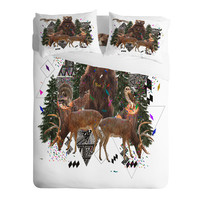 Kris Tate Young Spirits In The Woods Sheet Set