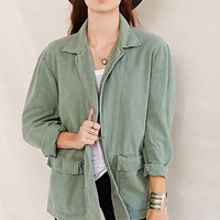 Urban Renewal Remade Faded Work Jacket - Green