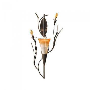 Dawn Lily Wall Sconce-12pk