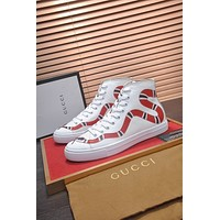 GUCCI   Fashion Women Men's Casual Running Sport Shoes Sneakers Slipper Sandals High Heels Shoes