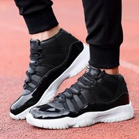 Men Basketball Shoes Wearable Sports Sneakers Professional Athletic Comfortable High Top Outdoor Walking Boots
