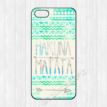 Hakuna Matata iPhone 5 Case,Infinity Lion king iPhone 5 5s 5c Hard Plastic Rubber Case,Aztec cover skin case for iphone 4 4s 5 5s 5c cases