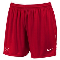 NIKE WOMENS FACE-OFF GAME SHORT - RED