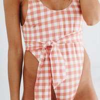Seabrook Island Gingham Swimsuit - Luca + Grae