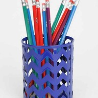 Chevron Pencil Cup - Assorted One