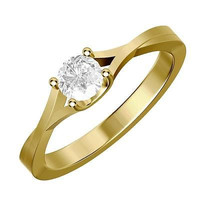White Round CZ Stud sterling silver wedding Ring with free ship