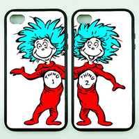 iphone 5S case,Thing one,Thing Two,iphone 5C case,iphone 5 case,iphone 4 case,iphone 4S case,ipod 4 case,Unique ipod 5 case,ipod case