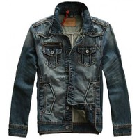 Seabar 115 Premium Denim Jacket - leatherandcotton