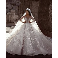Luxury Cathedral Royal Train Lace