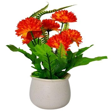 1 Bunch Artificial Fake Flower Bouquet for Home Hotel Office Wedding Party