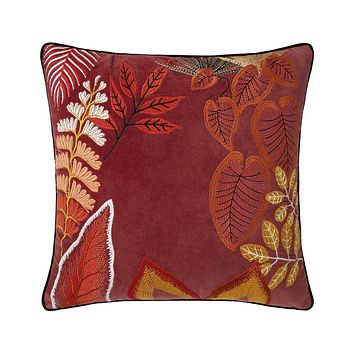 Bayou Rubis Decorative Pillow by Iosis